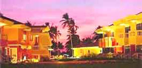 Coconut Grove Resort in Night view